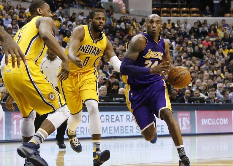 New Los Angeles Lakers v Indiana Pacers Kobe  Shaq MVP The NBA Finals 2000 Pin