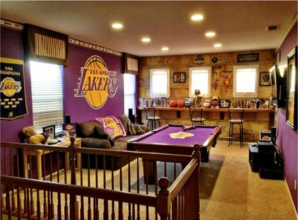 A Stunning Lakers Room A Lifetime In The Making