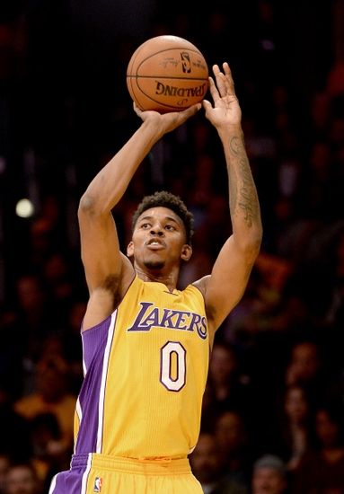 Nick Young Lakers 2015