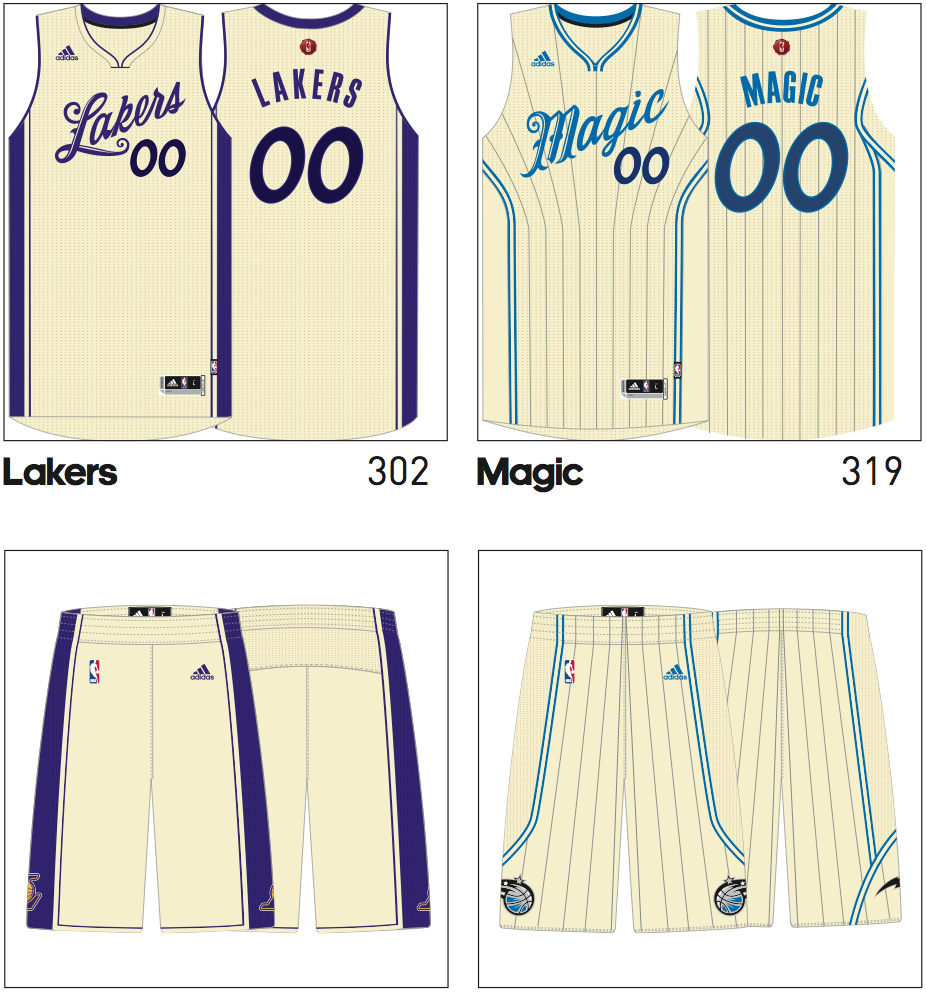 Lakers News  New Christmas Day Jerseys Leaked ac55ef133