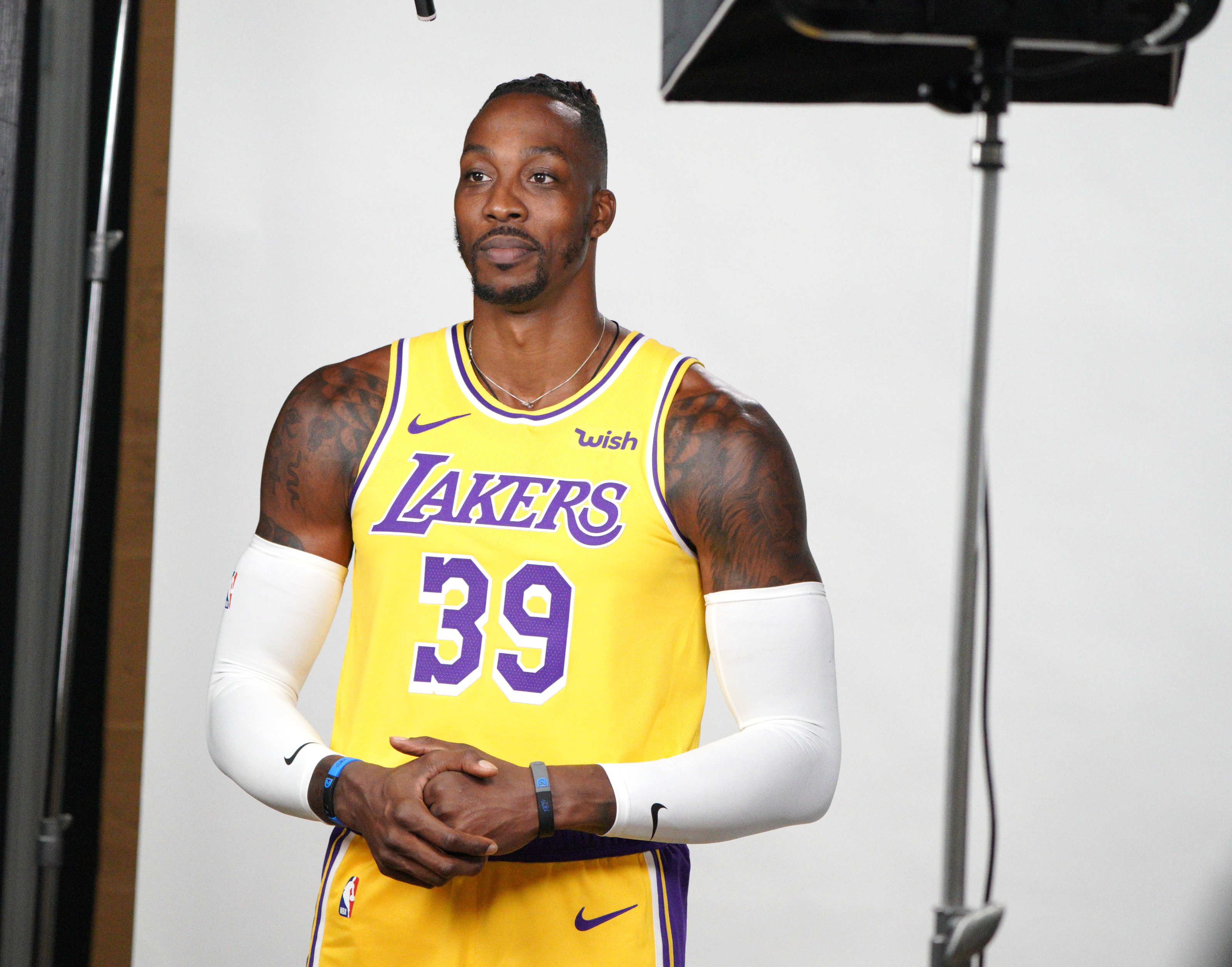 Los Angeles Lakers are impressed with Dwight Howard
