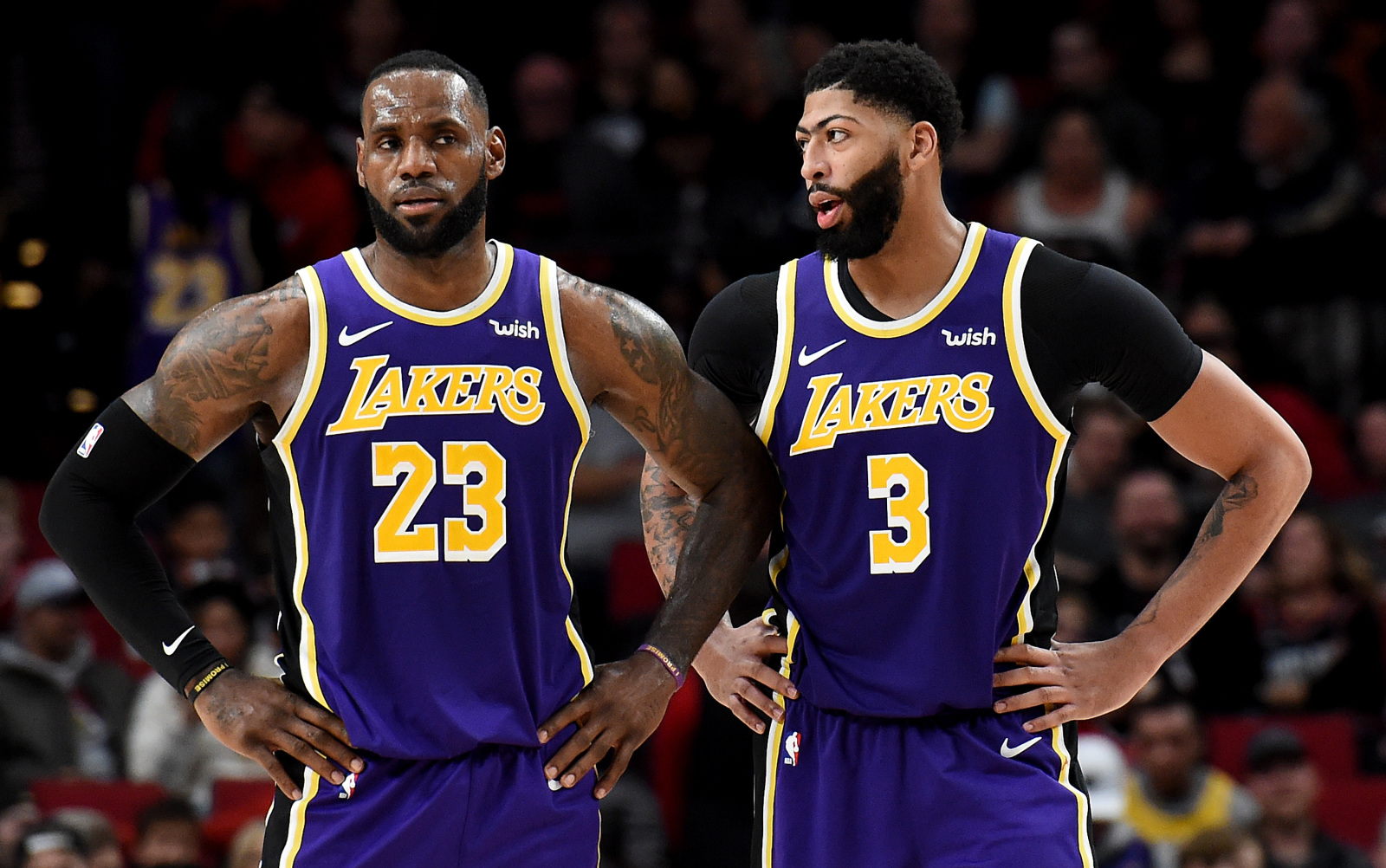 Los A (Photo by Steve Dykes/Getty Images)ngeles Lakers