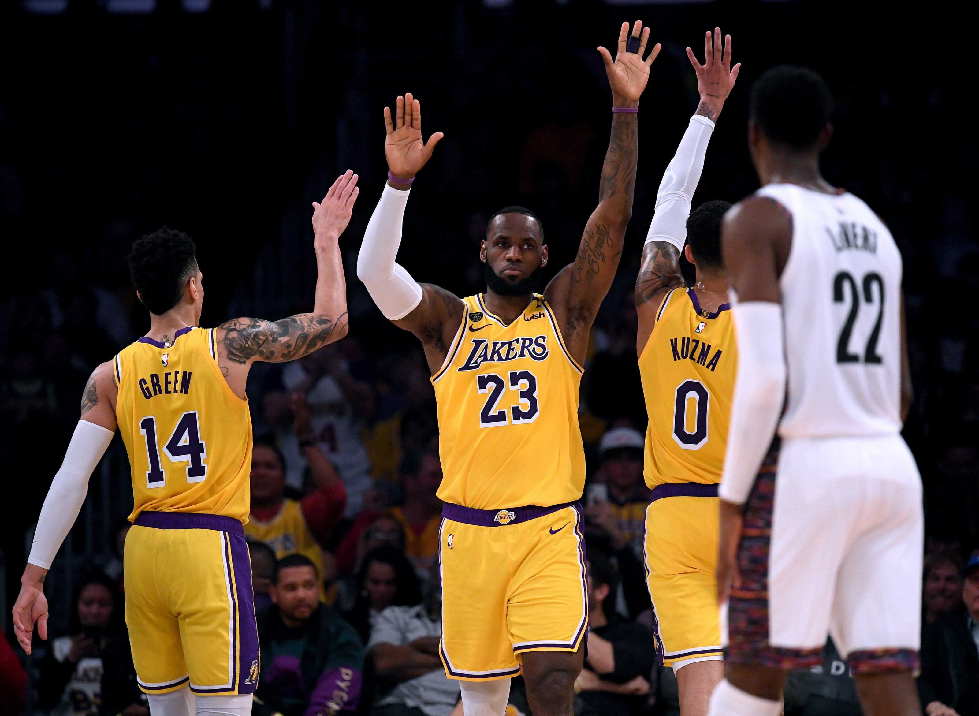Lakers 10 Stats That Show Why They Should Be Feared In Nba Playoffs