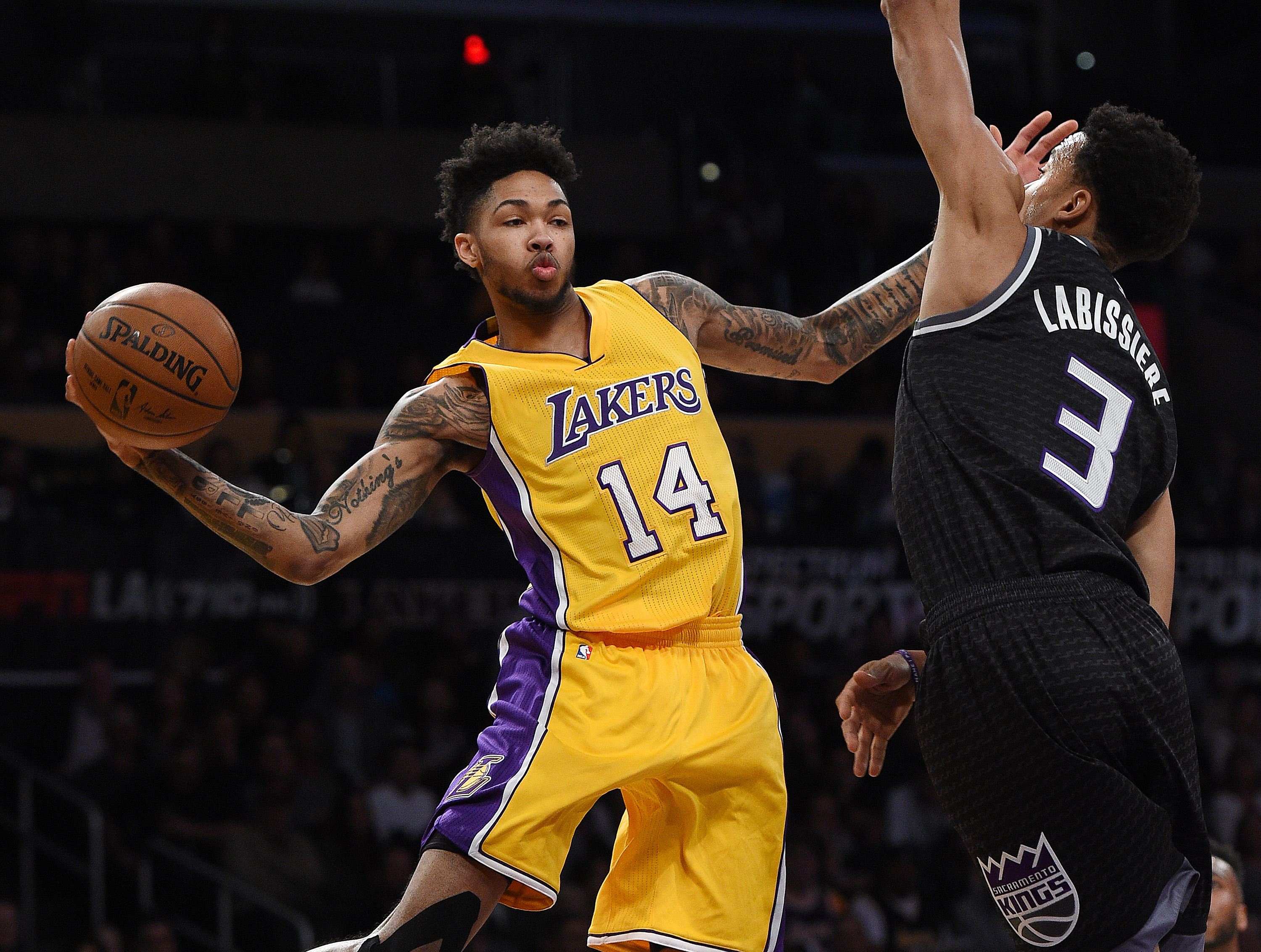 Los Angeles Lakers Brandon Ingram Shares Lessons Learned As A Rookie