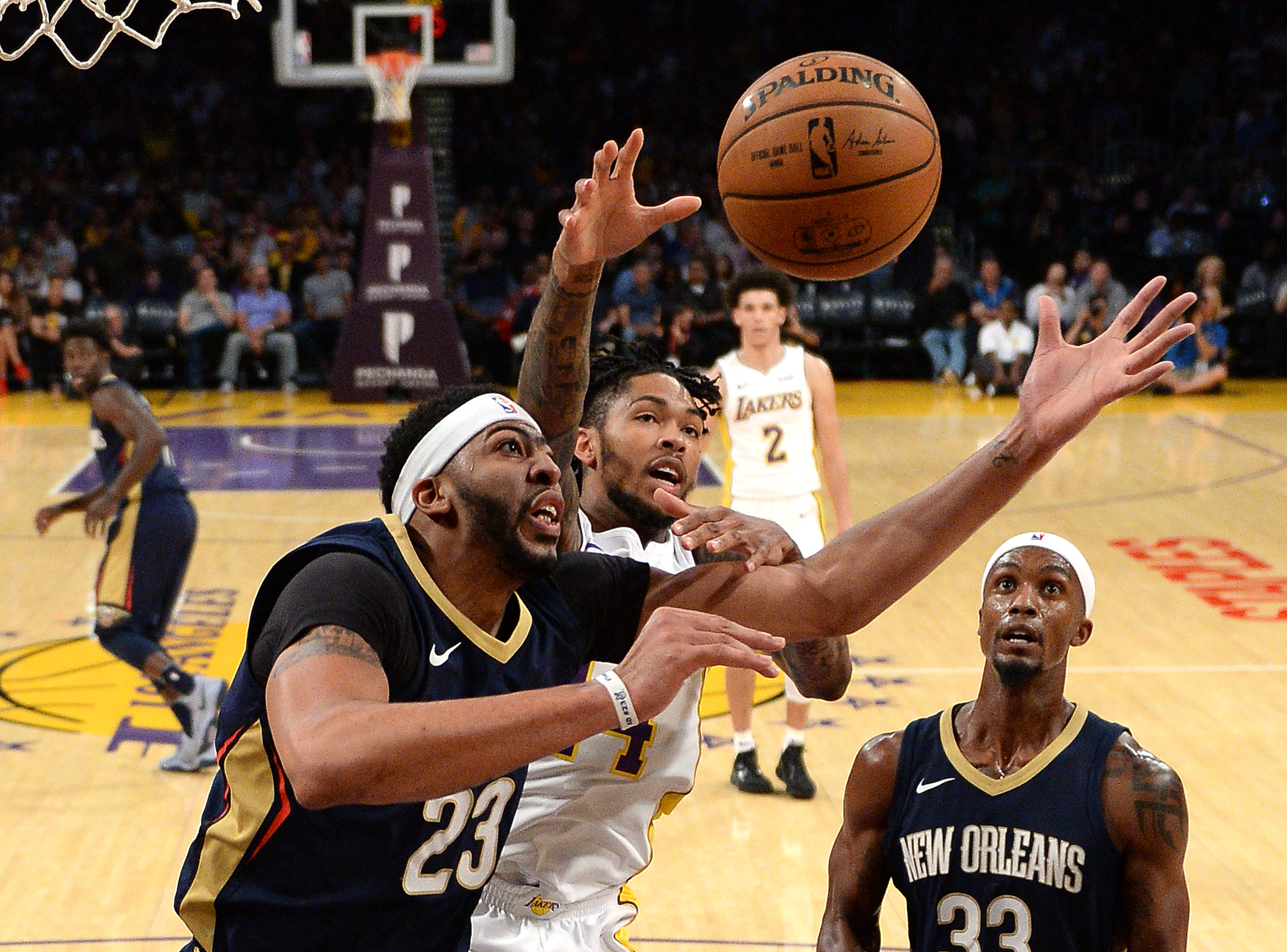 Los Angeles Lakers comeback falls short vs New Orleans ...