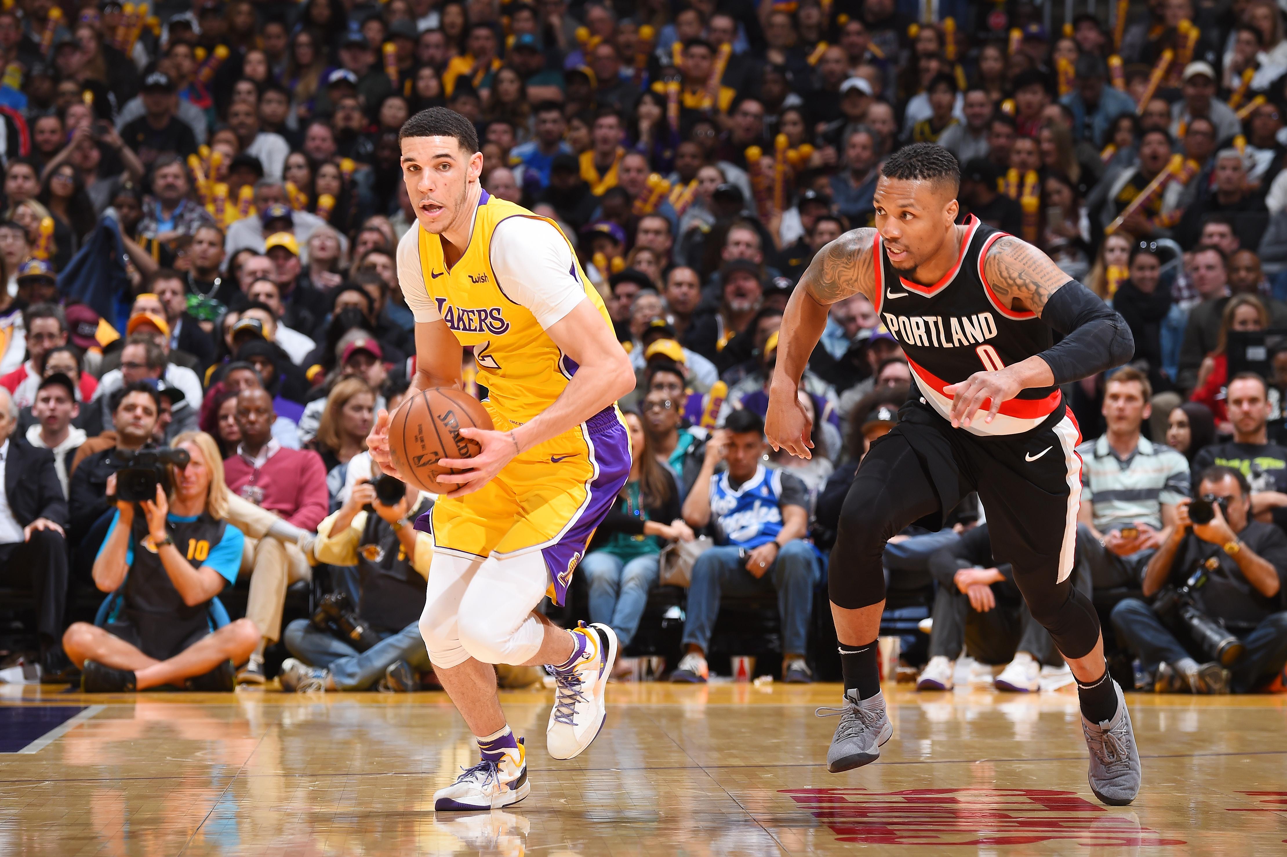 Los Angeles Lakers Recap Highlights Vs Portland Trail Blazers