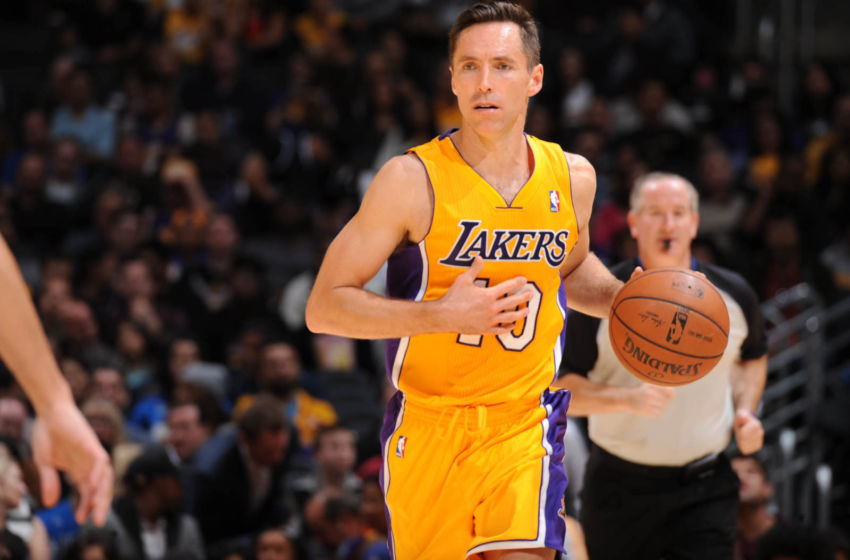 Los Angeles Lakers' trade for Steve Nash finally ending in 2018 ...