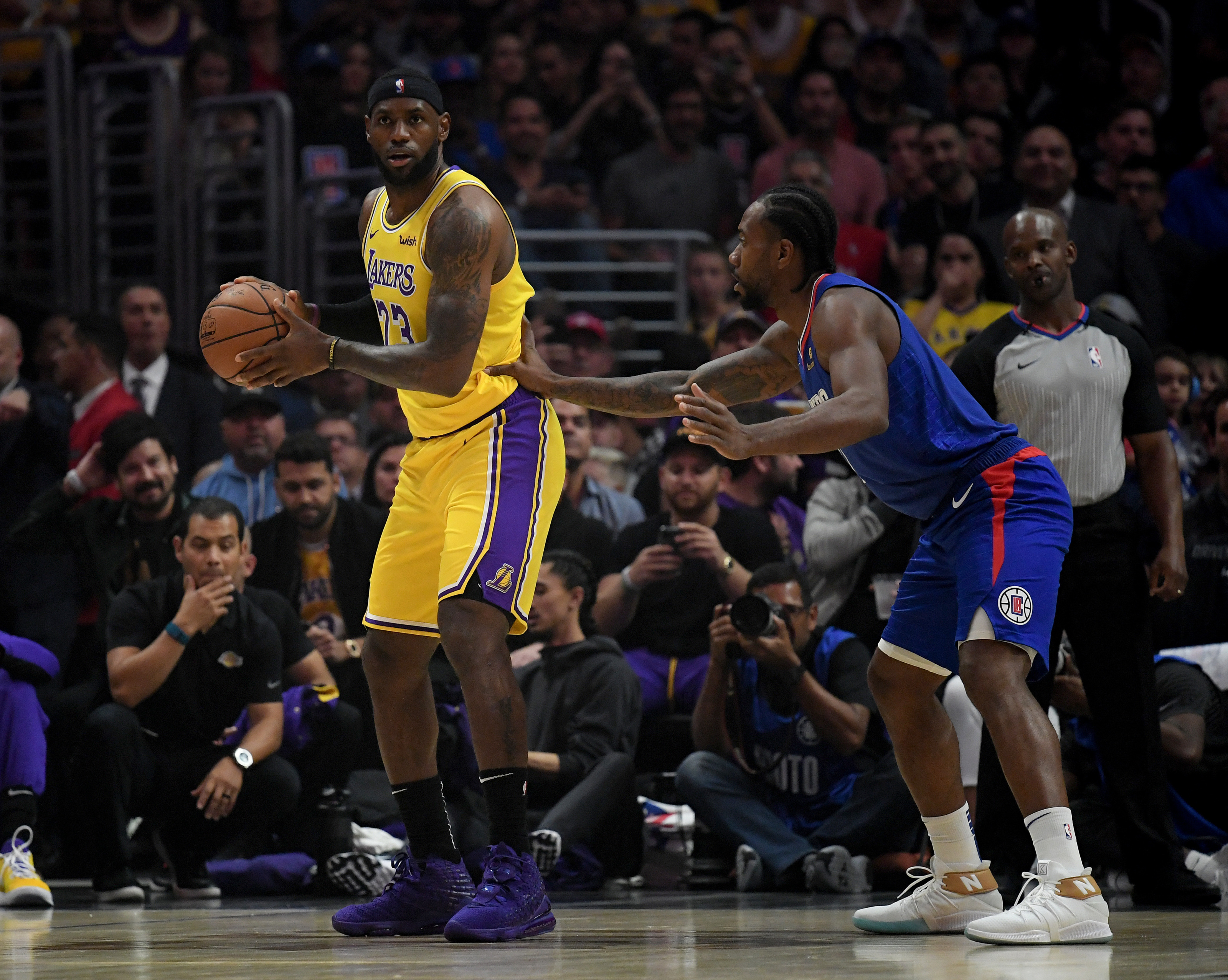 Los Angeles Lakers: Are they better than the Clippers past the halfway point?