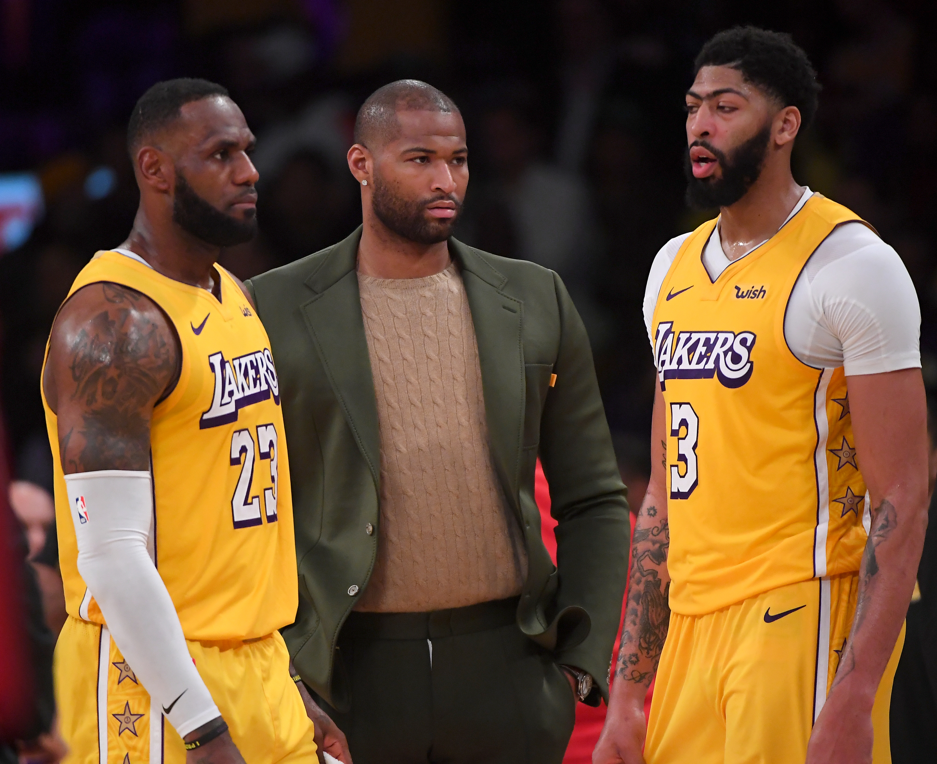 Los Angeles Lakers: DeMarcus Cousins contributes as the 15th man