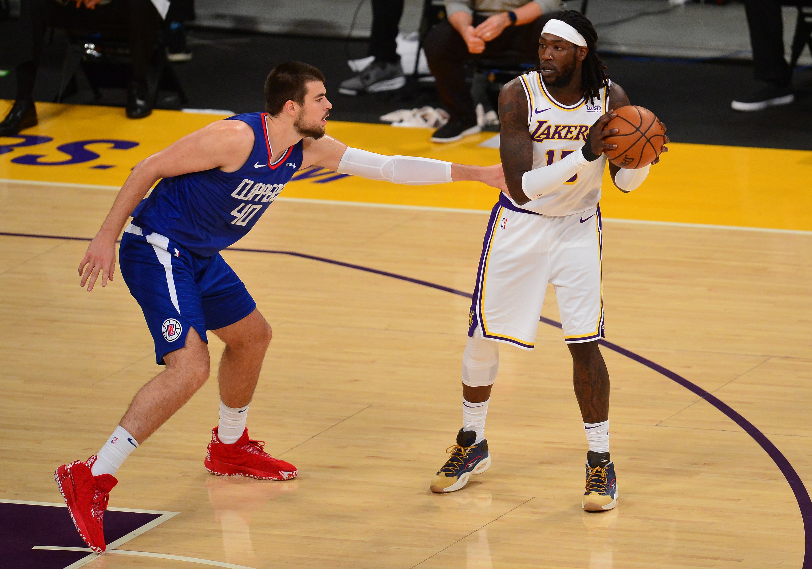 Lakers: Don't overlook Dennis Schröder and Montrezl Harrell in the loss