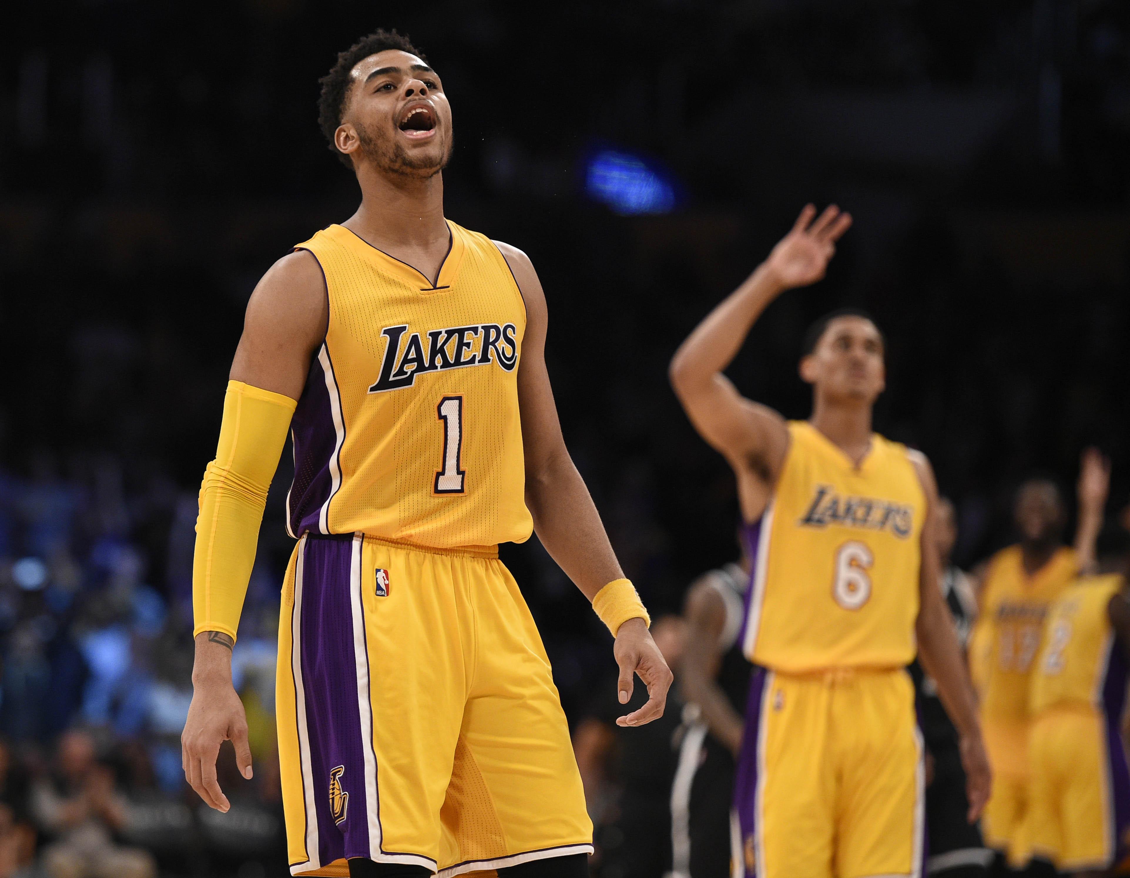 4ec476719b1 ... Los Angeles Lakers Grading the DAngelo Russell